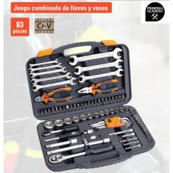 Juego llaves de vaso Alyco HR 83 piezas 170765
