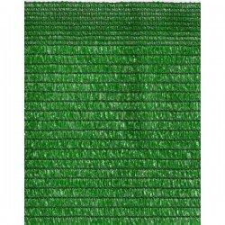 Malla ocultación 80% 1.5X10 mtr verde claro