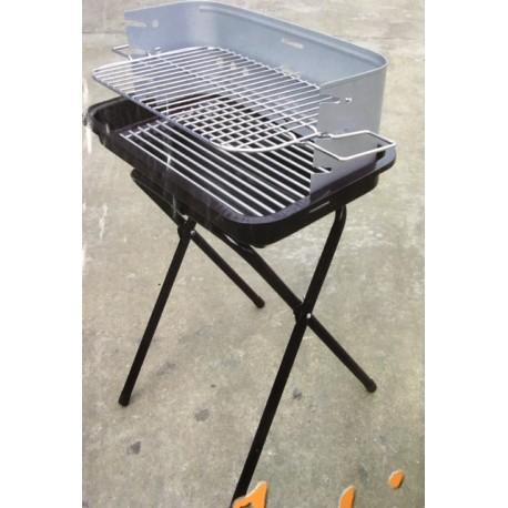 Barbacoa carbón practika Tryun 30X50 cm