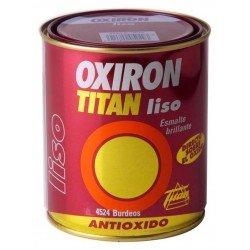 Esmalte Titan Oxiron liso brillante 750ml
