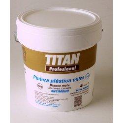 Pintura plástica blanca Titan A1 4L