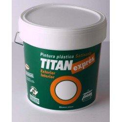 Pintura interior-exterior Titan expres 15 L