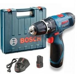 Atornillador Bosch GSB 1080 2LI + 2 baterías