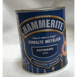 Esmalte satinado Hammerite 750ml azul