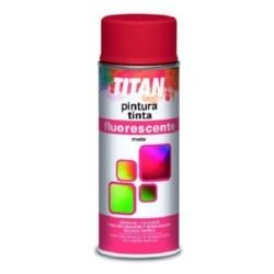 Spray Titan pintura fluorescente