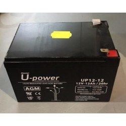 Batería recargable Zar 12,0 V 12,0 AH