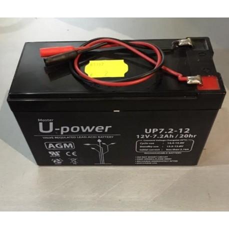 Batería recargable Zar 12V 7,0 AH