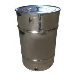 Bidón madurador de miel con filtro 200Kg
