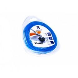 Rollo nylon Whisper Husqvarna azul