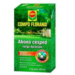 ABONO CESPED Floranid 3 kg