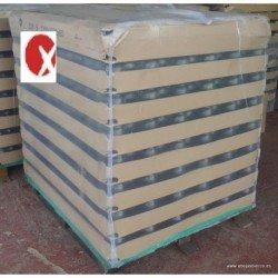 Pallet Tarros o Botes de cristal para miel V720 1Kg Alto