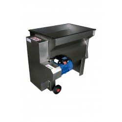 Despalilladora con bomba inox para vino DPE 2000L/B