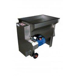 Despalilladora inox para vino DPE 2000L/B con bomba