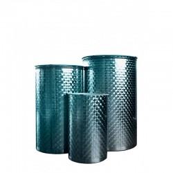 Depósito para aceite en acero inoxidable 304, 400lt
