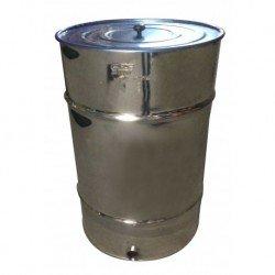 Bidón Madurador de miel con Filtro 120 Kg Inox