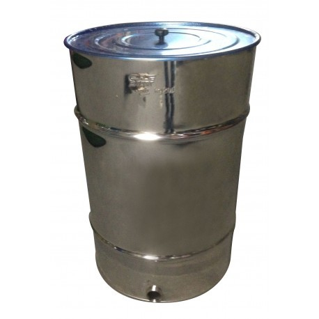 Bidon Madurador de miel con Filtro 120 kilos Inox