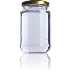 Bote miel 370 ml con tapa 24uds
