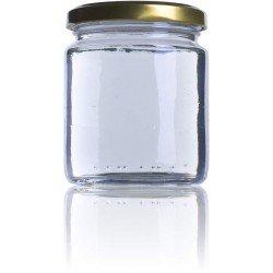 Bote miel 250 ml con tapa 33uds