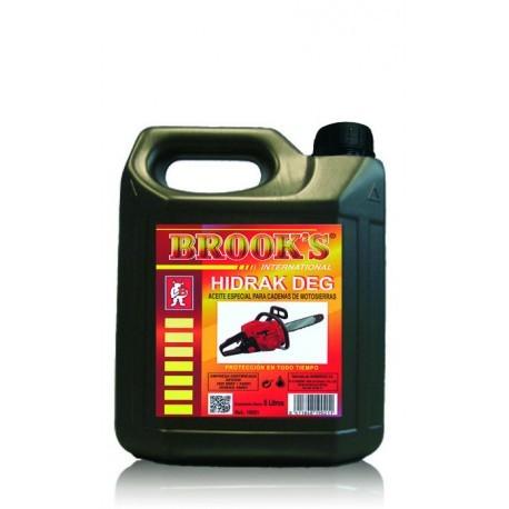 Aceite para cadena motosierra Brooks 5L.