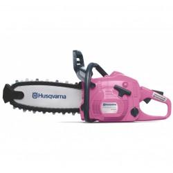 Motosierra juguete Husqvarna color rosa