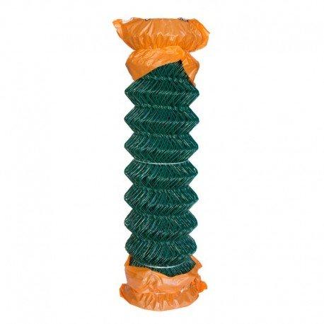Rollo enrejado plastificado verde 0,50m