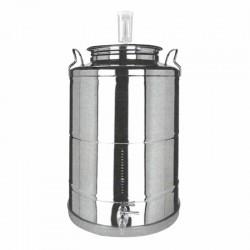 Fermentador de Cerveza Acero Inox Tapa rosca 35 L