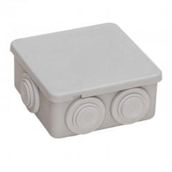 Caja cuadrada Estanca 80 con Conos IP55 FAMATEL 3002