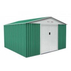 Caseta metálica Gardiun Coventry verde