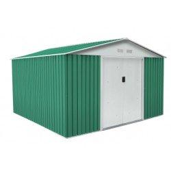 Caseta metálica Gardiun Bedford verde