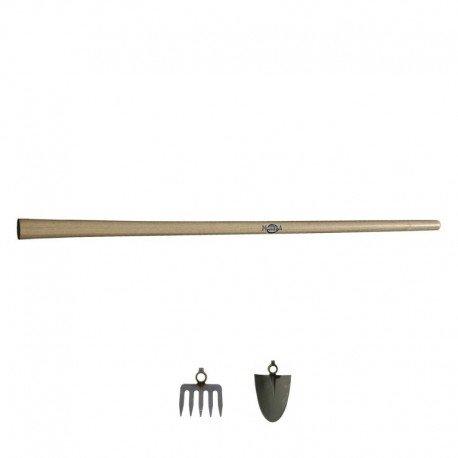 Mango madera Azada y Rastrillo Maquieira 1300x38