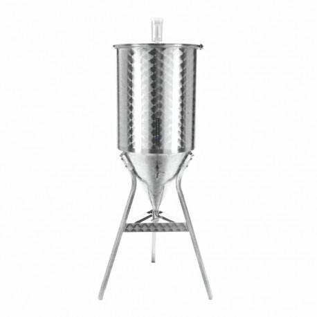 Fermentador de cerveza 55 Litros Acero Inox Fondo Conico 60º