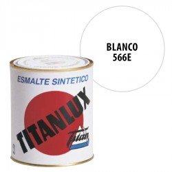 Esmalte Sintético Blanco 566E Titanlux Exterior Brillo
