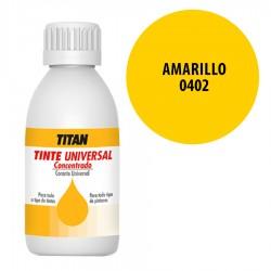 Tinte universal Titan 402 amarillo 50 y 250 ml