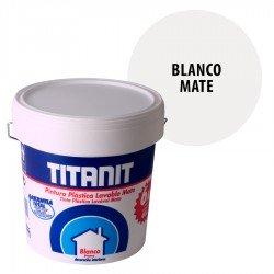 Pintura Plástica Lavable Titanit Interior Blanco Mate