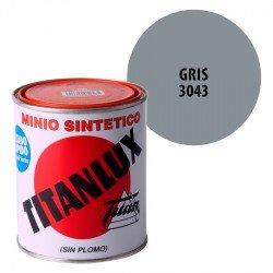 Minio Sintético Gris 3043 Titanlux Interior-Exterior