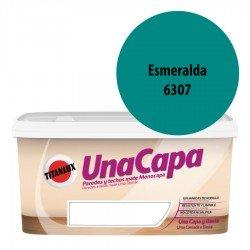 Titán una Capa Esmeralda 6307 Pintura MATE