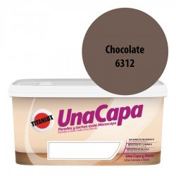 Titán una Capa Chocolate 6312 Pintura MATE