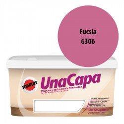 Titán una Capa Fucsia 6306 Pintura MATE