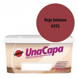 Titán una Capa Rojo Intenso 6392 Pintura MATE