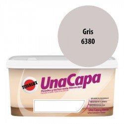 Titán una Capa Gris 6380 Pintura MATE